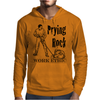 Prying Rock Illustration Mens Hoodie