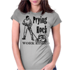 Prying Rock Illustration Womens Fitted T-Shirt