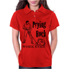 Prying Rock Illustration Womens Polo