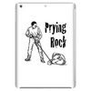 Prying rock line illustration, how to move boulder Tablet (vertical)