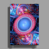Psychedelic 1 Poster Print (Portrait)