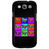 Psychedelic Butterflies Mosaic Phone Case