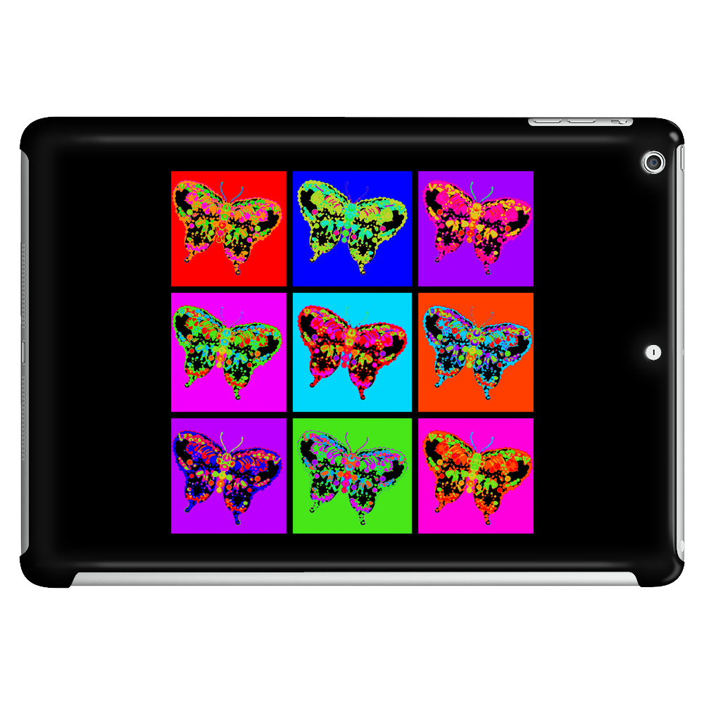 Psychedelic Butterflies Mosaic Tablet