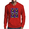 Psychedelic Chihuahua Dog Mens Hoodie