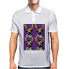 Psychedelic Chihuahua Dog Mens Polo