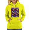Psychedelic Chihuahua Dog Womens Hoodie