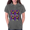 Psychedelic Chihuahua Dog Womens Polo