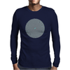 Psychedelic design Mens Long Sleeve T-Shirt