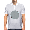 Psychedelic design Mens Polo