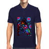 Psychedelic Horse Equine Riding Mens Polo