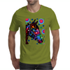 Psychedelic Horse Equine Riding Mens T-Shirt