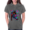 Psychedelic Horse Equine Riding Womens Polo