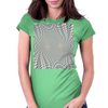Psychedelic play Womens Fitted T-Shirt