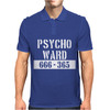 Psycho Ward  Funny  fancy dress horror Halloween mental health Mens Polo