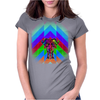 Psyco-delic Elephant Womens Fitted T-Shirt