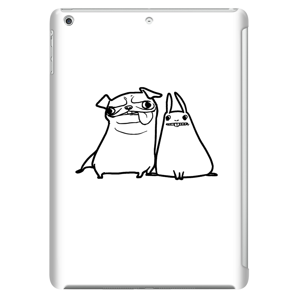 pug and rabbit Tablet (vertical)