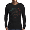 Pug art Mens Long Sleeve T-Shirt
