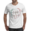 Pug art Mens T-Shirt