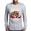 Pug Dog Christmas Mens Long Sleeve T-Shirt