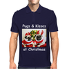 Pug Dog Christmas Mens Polo