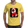 Pug Dressed As Santa Christmas Mens T-Shirt