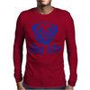 Pug Life Mens Long Sleeve T-Shirt
