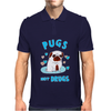 Pugs Not Drugs Mens Polo