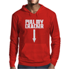 Pull My Cracker Funny Xmas Christmas Mens Hoodie