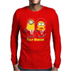 Pulp Minion Pulp Fiction Parody Despicable Me Mens Long Sleeve T-Shirt
