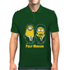 Pulp Minion Pulp Fiction Parody Despicable Me Mens Polo
