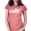 puma Coma Cool Funny Womens Fitted T-Shirt