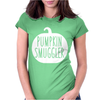 Pumpkin Smuggler Funny Womens Fitted T-Shirt