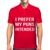 Pun Intended - Funny Mens Polo