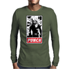 Punch - obey parody Mens Long Sleeve T-Shirt
