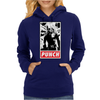 Punch - obey parody Womens Hoodie