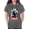 Punch - obey parody Womens Polo