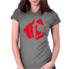 punch Womens Fitted T-Shirt