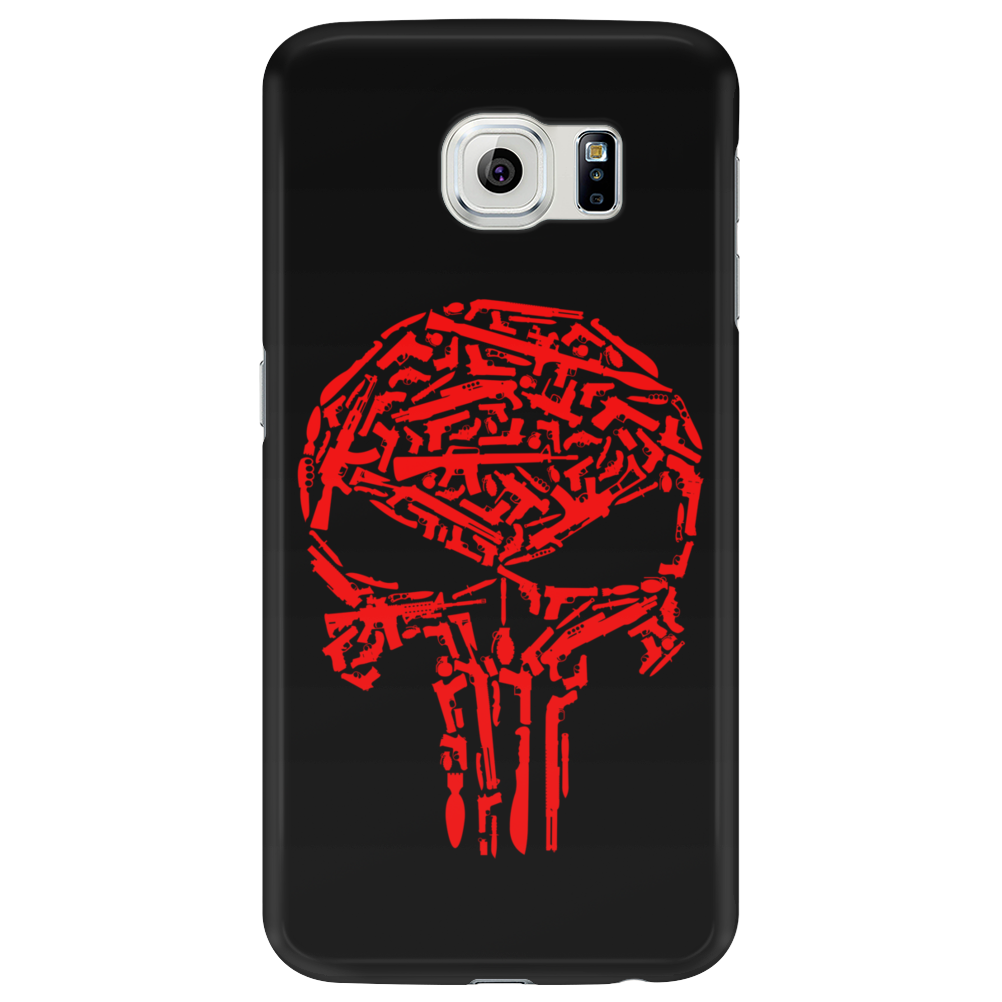 Punisher Arsenal Red Phone Case