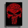Punisher Arsenal Red Poster Print (Portrait)