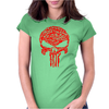 Punisher Arsenal Red Womens Fitted T-Shirt
