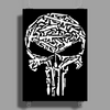 Punisher Arsenal White Poster Print (Portrait)