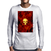 Punisher Flame Mens Long Sleeve T-Shirt