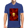 Punisher Flame Mens Polo