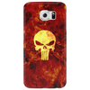 Punisher Flame Phone Case