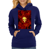 Punisher Flame Womens Hoodie