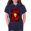 Punisher Flame Womens Polo