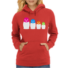 Punk Band Russian Nesting Doll Pussy Womens Hoodie