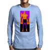 Purange the Superhero Mens Long Sleeve T-Shirt