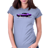 Purple Camaro Z 28 Muscle Car 1967-68-69 Womens Fitted T-Shirt