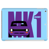 Purple Ford Escort MK1 Classic Car Tablet